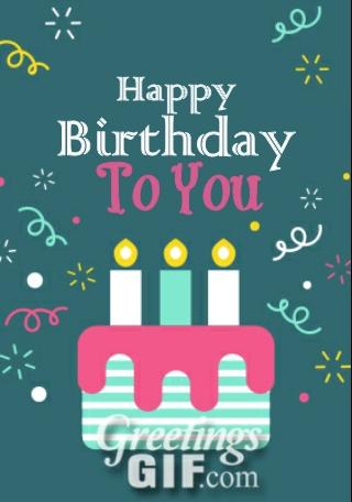 Happy Birthday Gif - 27 1