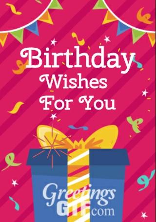 Animated Happy Birthday Gif - 9 1
