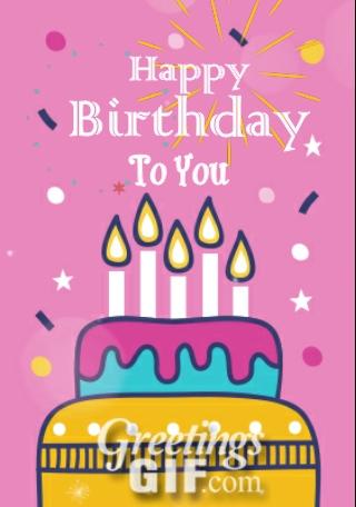 Happy Birthday Gif - 34 2