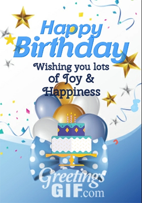 Animated Happy Birthday Wishes Cake Gif – 21 2