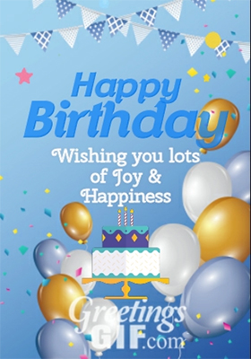 Animated Happy Birthday Wishes Cake Gif – 22 2