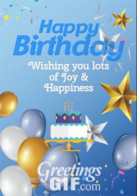 Animated Happy Birthday Wishes Cake Gif – 23 2