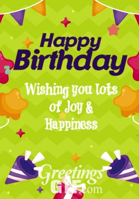 Animated Happy Birthday Wishes Gif – 24 2