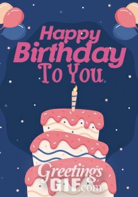 Happy Birthday Gif - 25 2