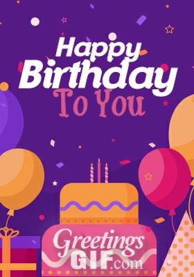 Happy Birthday Gif - 26 2