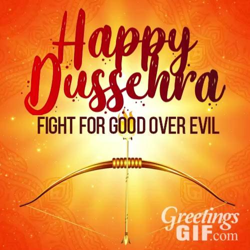 Happy Dussehra Card